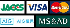 JACCS VISA MasterCard AIG AIG損保 MS&AD